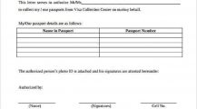 Authorization Letter For Passport Collection Letter 9+ Interesting Authorization Letter Template Examples