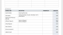 Formal Meeting Agenda Schedule Template Sample MS Word Schedule 16+ Meeting Schedule Template Samples