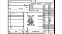 HVAC Service Order Invoice Template Example Sample Invoice HVAC Invoice Template Examples