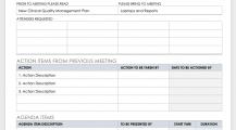Informal Meeting Agenda Template Sample MS Word Schedule 16+ Meeting Schedule Template Samples