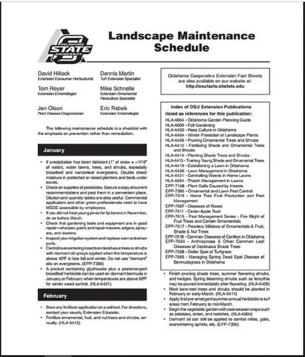 Landscape Maintenance Schedule Template PDF Form Sample Preventive Car Chart Machine Pdf Excel  Samples Large