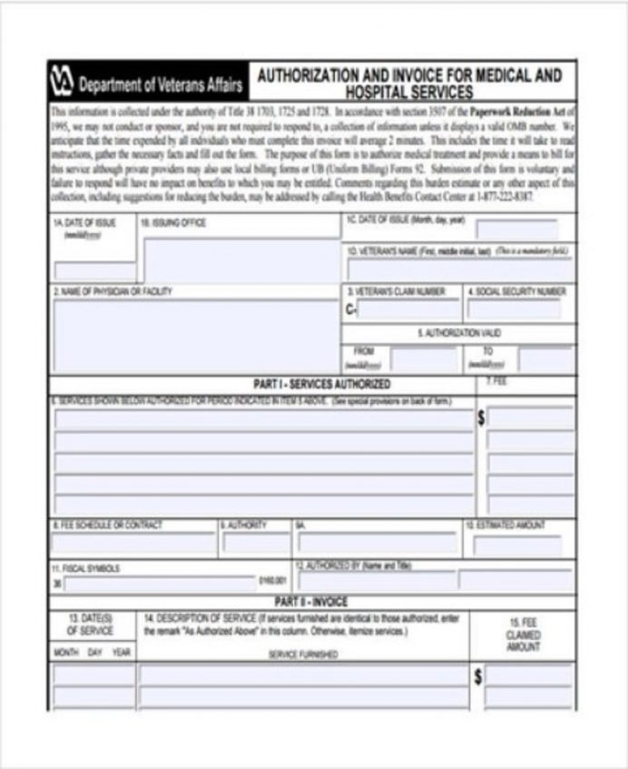Medical Services Invoice Template Sample Invoice Service Invoice Template Examples