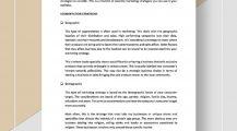 Possible Marketing Strategies Checklist Template Sample Checklist Marketing Checklist Template Samples