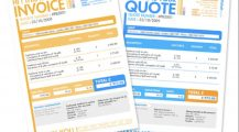 Professional Invoice Template by Pascale Dufour Invoice Top 8 Professional Invoice Template Examples