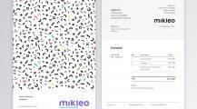 Professional Invoice Template Mikleo by Fabio Basile Invoice Top 8 Professional Invoice Template Examples