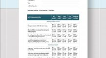 Safety Audit Checklist Template Example Form Checklist Safety Checklist Template Examples