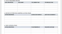 Weekly Meeting Agenda Schedule Template Sample MS Word Schedule 16+ Meeting Schedule Template Samples