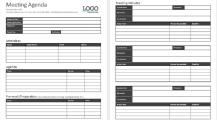 Company Meeting Agenda Schedule Template Sample MS Word Schedule 16+ Meeting Schedule Template Samples