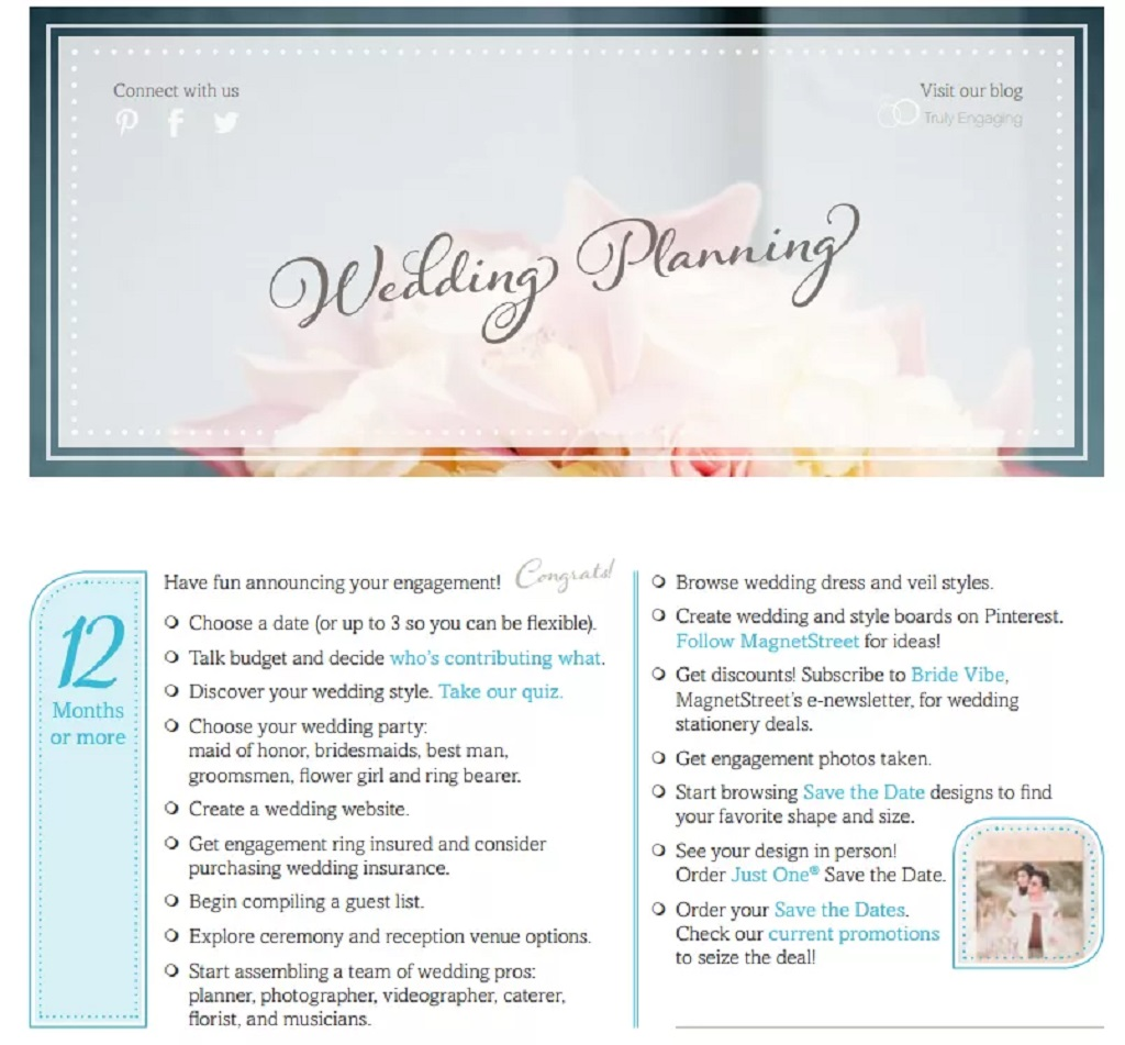 Complete Wedding Planning Checklist Template Format Sample Example