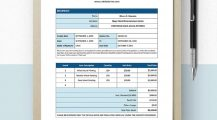 Freelance Artist Invoice Template Example Sample Invoice Freelance Invoice Template Examples