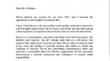 Navy Letter of Recommendation Letter Military Letter of Recommendation Template Examples