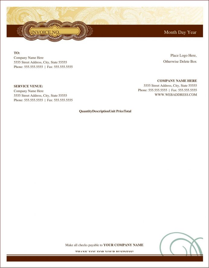 Artist Invoice Word Template 3d Freelance Art Sale Receipt Uk  Example