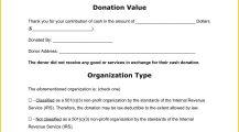 Cash Donation Receipt Template Word Receipt Cash Donation Receipt Template Sample