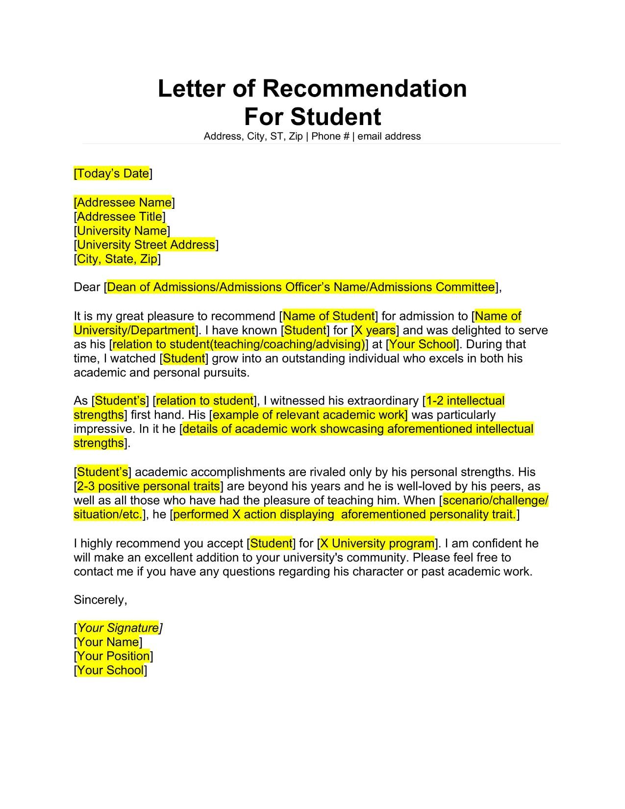 Sample Letter Of Recommendation For Masters Program from www.geneevarojr.com