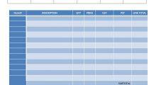 Printable Handyman Invoice Template Word Invoice Sample Handyman Invoice Template