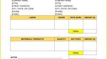 Welding Service Invoice Word Template Invoice Welding Invoice Template Example