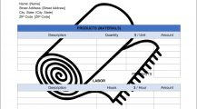 Carpet Installation Invoice Template Word Invoice Carpet Installation Invoice Template Sample