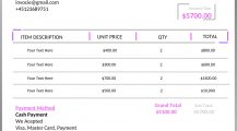 Contract Pilot Invoice Template Word Invoice Contract Pilot Invoice Template Sample