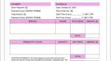 Drapery Work Order Word Template Work Order Drapery Work Order Template Example