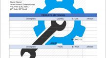 Equipment Repair Invoice Template Word Format Invoice Equipment Repair Invoice Template Sample