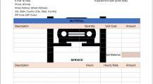 Garage Maintenance Work Order Form Word Template Work Order Garage Maintenance Work Order Template Example