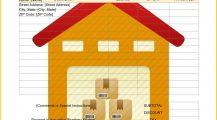 Storage Unit Rental Invoice Template Word Invoice Storage Unit Rental Invoice Template Sample