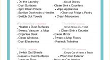 Sample Flat Apartment Cleaning Roster Template Word Checklist Sample Flat Cleaning Roster Template