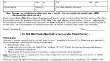 Form ITD 3858 Idaho Release of Liability Statement Bill Of Sale Form ITD 3738 Idaho DMV Motor Vehicle Bill of Sale