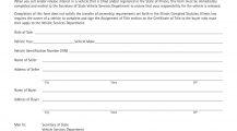 Illinois Form VSD 703 Seller`s Report of Sale Bill Of Sale Illinois Motor Vehicle Bill of Sale Form Template
