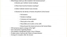 Sample Catholic Funeral Planning Checklist Template Word Checklist Example Catholic Funeral Checklist Template