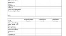 Sample Tenant Rental Inspection Checklist Template PDF Checklist Example Rental Inspection Checklist for Tenants