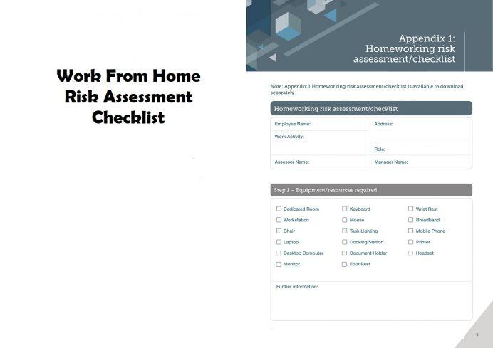 Sample Work From Home Risk Assessment Checklist Template PDF Checklist Work From Home Risk Assessment Checklist Template Example