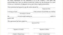 I Owe You Template PDF Agreement I Owe You (IOU) Template Sample