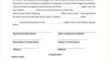 IOU Form Template PDF Agreement I Owe You (IOU) Template Sample