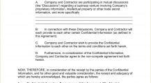 Independent Contractor Non-Compete Agreement Form Template Word Doc Agreement Independent Contractor Non-Compete Agreement Template