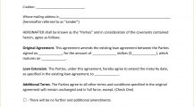 Loan Extension Agreement Form PDF Agreement Loan Extension Agreement Template Example