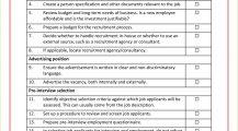 Recruitment Checklist Sample Template PDF Checklist Sample Recruitment & Selection Checklist Template