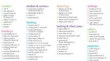 Sample Baby Registry Checklist Template Checklist Sample Ultimate Baby Registry Checklist Template