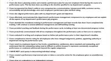 Supervisor Performance Management Checklist Template PDF Checklist Performance Management Checklist Sample Template