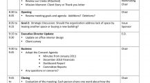Directors Strategic Meeting Agenda Agenda Sample Strategy Meeting Agenda Template