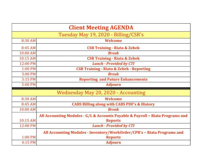 Simple Client Meeting Agenda PDF Template Agenda Client Meeting Agenda Template Example