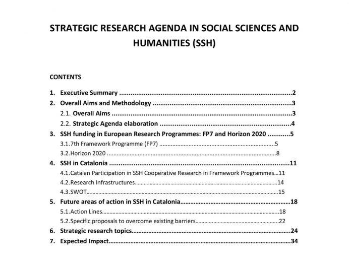 Strategic Research Agenda Agenda Research Agenda Template Example