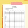 Sample Weekly Study Schedule Template